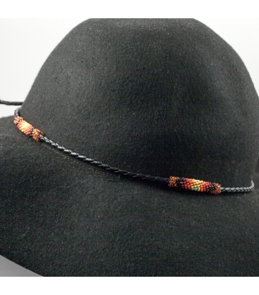 "HAT ""JEWEL"", FROM NATIVE AMERICAN NAVAJOS, WOVEN BEADS , FOR WOMEN AND MEN"
