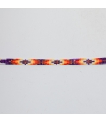 HEAD BAND OR HAT BAND, FROM NATIVE AMERICAN NAVAJOS, WOVEN BEADS , FOR WOMEN AND MEN