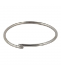 OPEN SILVER BANGLES, INDIAN COLLECTION, FOR WOMEN