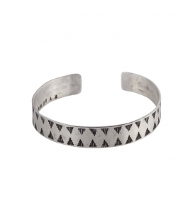 Banditas Creations 2 bars Bracelet, Silver 925, for women