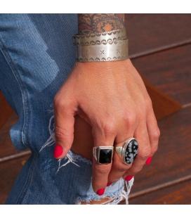 Banditas Creations 2 bars Bracelet, Silver 925, for women