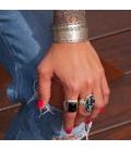 Bracelet Banditas Créations , en Argent 925 estampé, fait main, pour femme