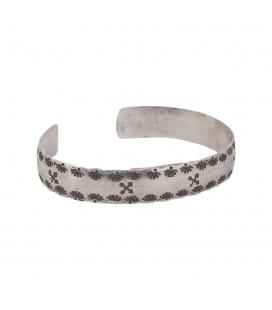 """Bracelet """"Amitié"""" Banditas Créations, en Argent ton estampé , fait main, pour femme et homme"""