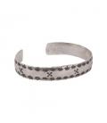 """Bracelet """"Amitié"""" SL bijoux Créations, en Argent ton estampé , fait main, pour femme et homme"""