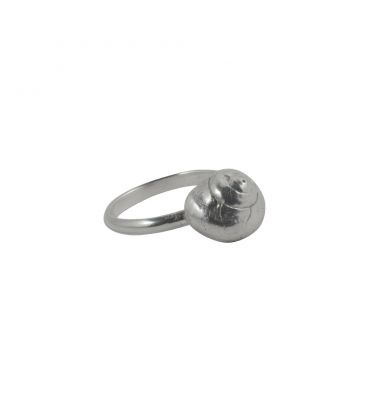 Jaguar Banditas Creation ring, Amber carved cabochon on Silver 925, for women