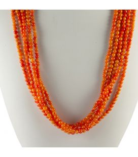 Collier Spiney Oyster Navajo 3 rangs, Collection Amérindienne, pour femme