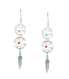 "boucles d'oreille ""dream catcher"""